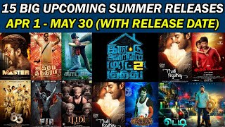 15 Big Upcoming Summer Releases With Release Dates | Upcoming Tamil Movies | Trendswood Tv