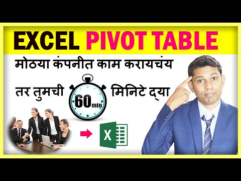 Pivot Table in
