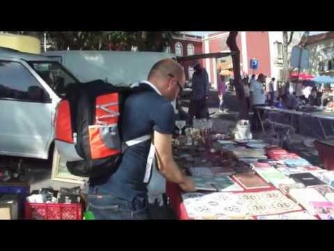 Feira Da Ladra, Lisboa, Portugal (Flea Market in Lisbon)