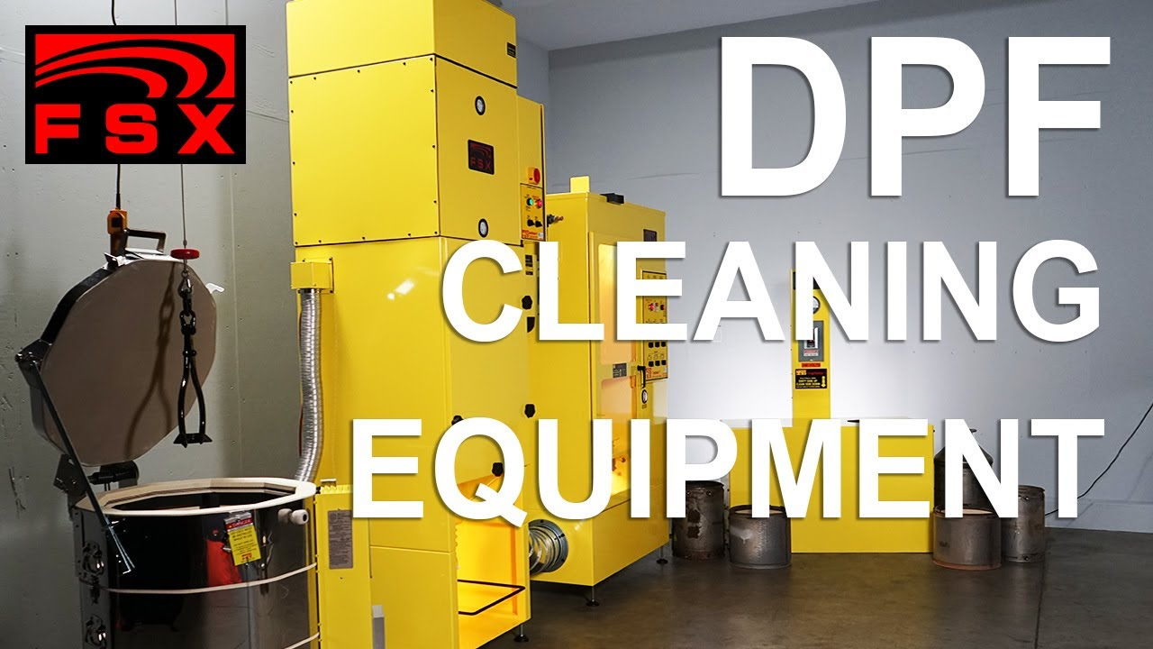 Fsx Dpf Cleaning Equipment Youtube