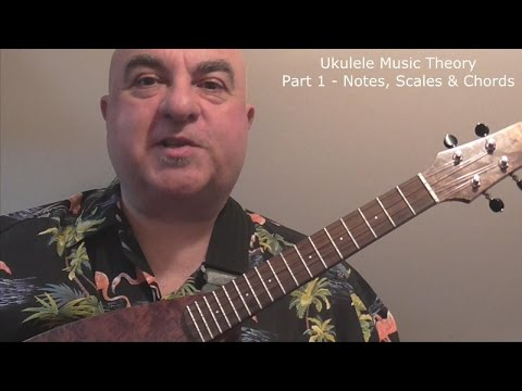 Ukulele Music Theory Part 1 - Notes, Scales & Chords