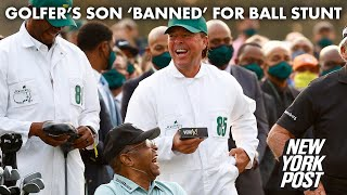 Gary Player's son 'banned' from Masters after golf ball stunt | New York Post