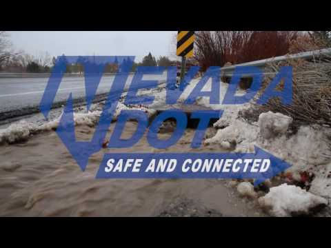 NDOT News: Northern Nevada Flood in Review, January 2017