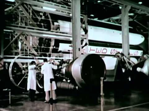 History of Rocketry : Steps To Saturn - Saturn Rocket - CharlieDeanArchives / Archival Footage