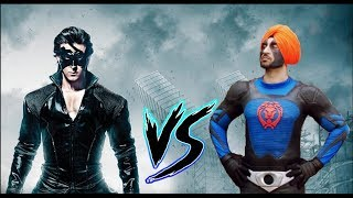Download Video Krrish vs Super Singh - Who would win in a Fight??? MP3 3GP MP4