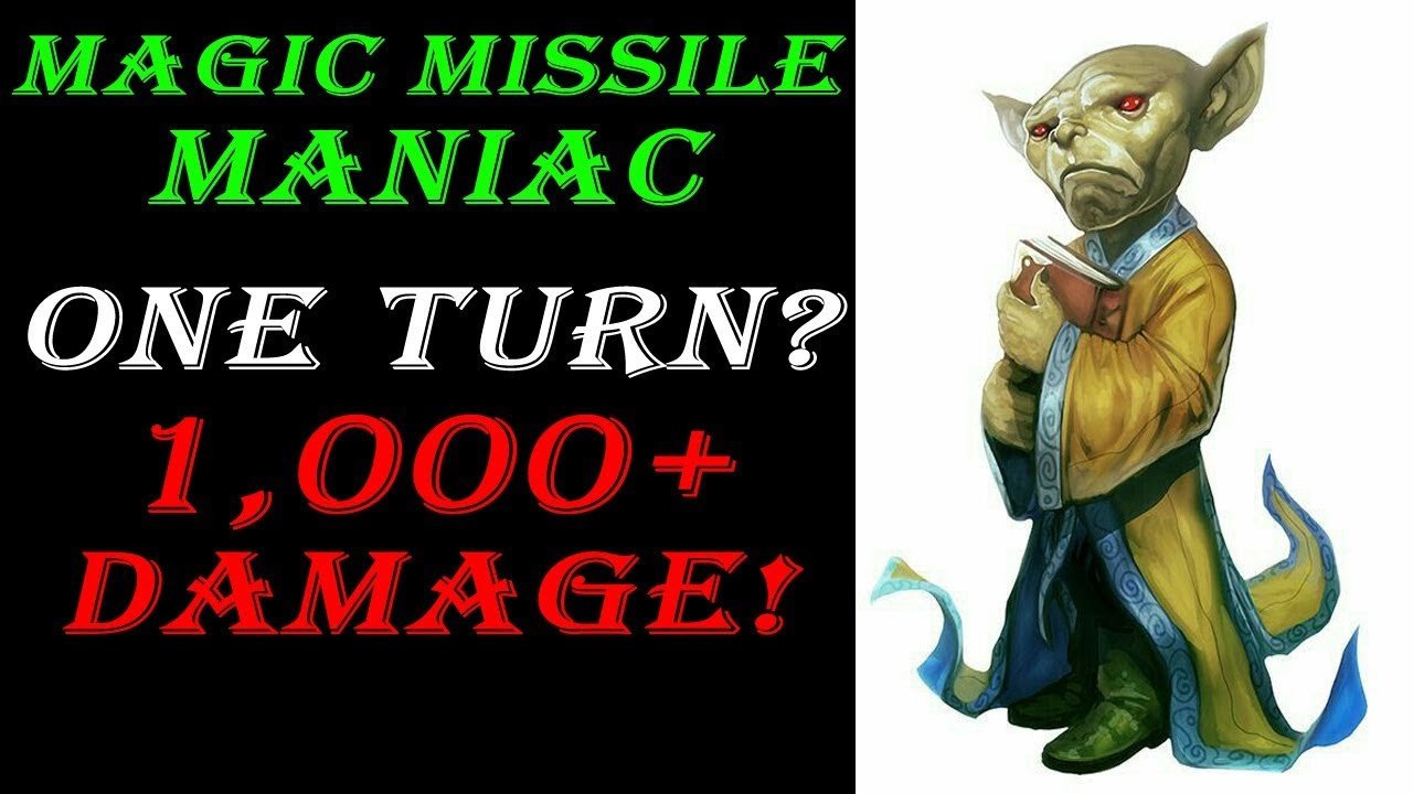 Magic Missile Maniac - Ultimate Nuclear Druid Build | Dungeons & Dragons 5e