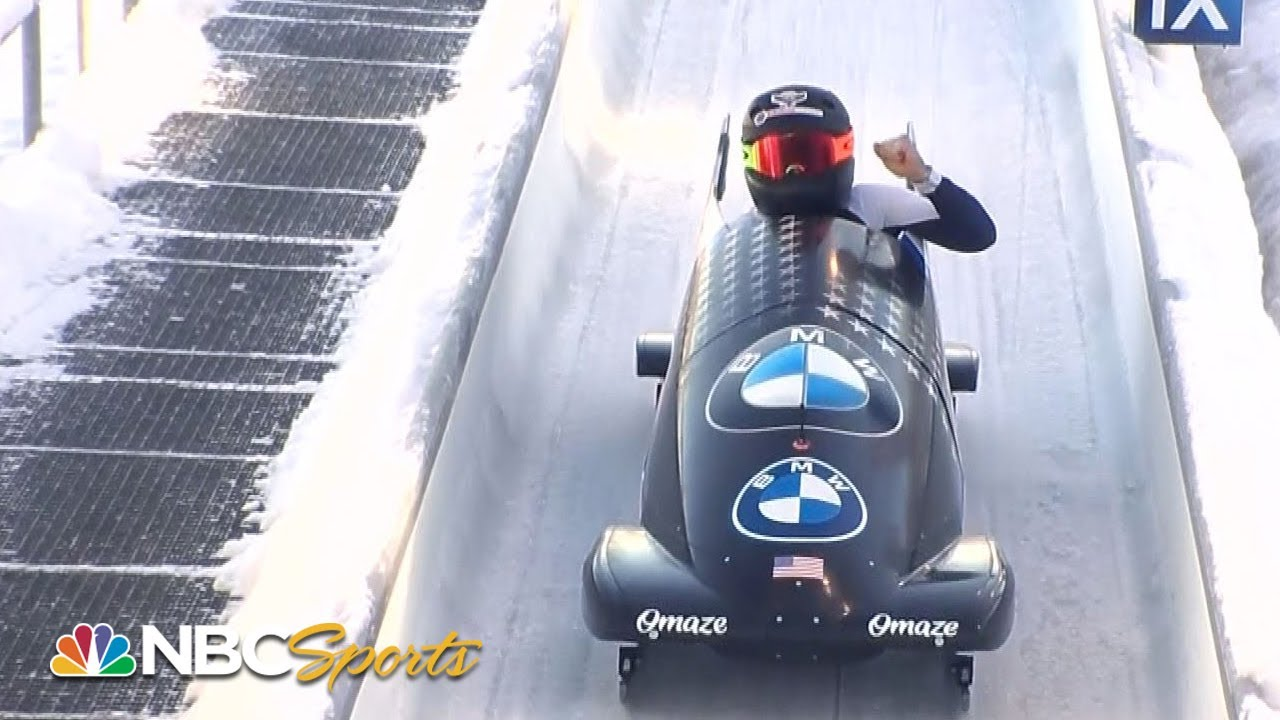 Kaillie Humphries wins first world title in monobob history | NBC Sports