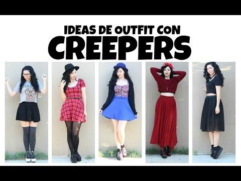 Ideas de outfit con CREEPERS!