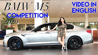 2020 BMW M5 Competition 617 hp | ENGLISH REVIEW