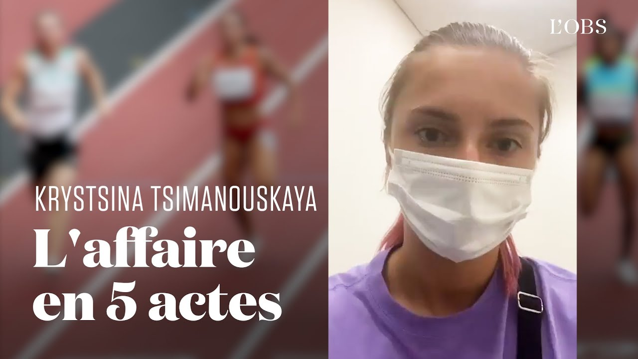 JO 2021 : comment Krystsina Tsimanouskaya a évité d'être rapatriée en Biélorussie