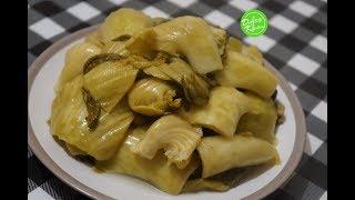 Pickled Mustard Green Recipe - Cách muối dưa cải chua (công thức bất bại)