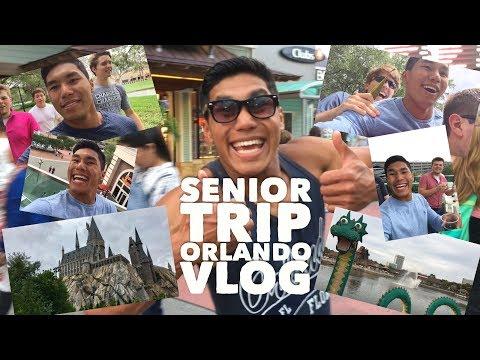 Senior Trip Orlando Ryan Farlett Vlog!! Chattanooga Christian School