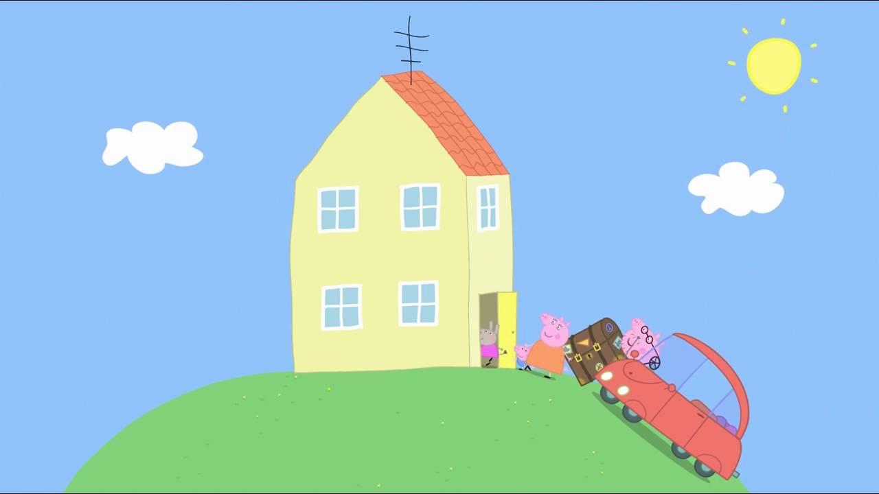 Peppa Pig - Delphine Donkey (12 episode / 3 season) [HD]