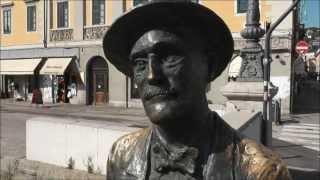 ".....la mia anima è a Trieste...""  JAMES JOYCE"