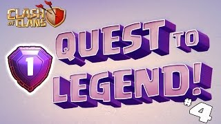 Clash of Clans - QUEST TO LEGEND LEAGUE! (DESTROYING NEW HARD BASES) 5000 Trophies #4