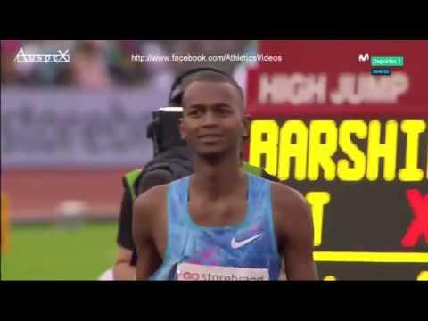Mutaz Essa Barshim Oslo 2.35m & 2.38m 2017 WL