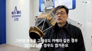 [KARI]인공위성 카메라 화소수는 왜 스마트폰 보다 낮을까? 이미지