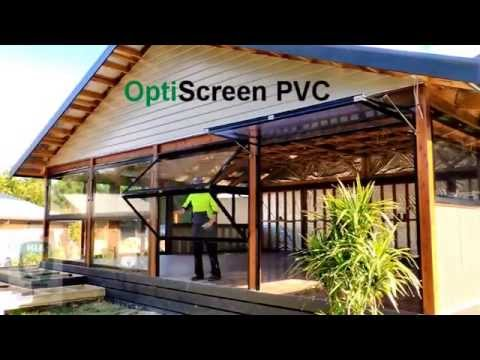 Dual Awning PVC Screens forget about cafe blinds