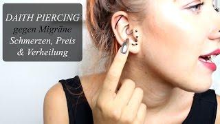 Daith Piercing | Piercing gegen Migräne? | Schmerzen, Preis, uvm. | Schnurstracks