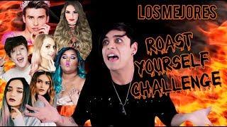 REACCIONANDO A LOS MEJORES ROAST YOURSELF CHALLENGE | RockoRockz