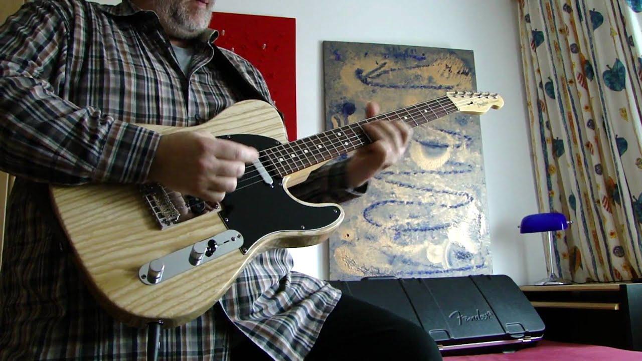 Fender American Standard Telecaster USA natural swamp ash Tele Funk ...