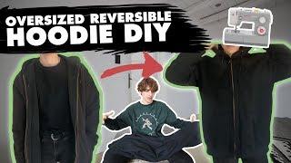 DIY - OVERSIZED REVERSIBLE HOODIE