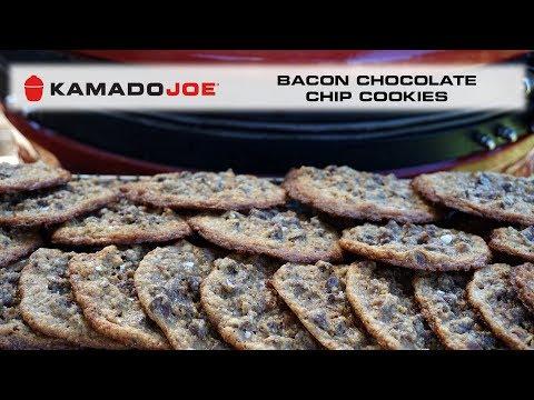 Kamado Joe Bacon Chocolate Chip Cookies