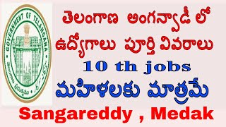 telangana  anganwadi teacher jobs notification 2017 || anganwadi teacher || anganwadi helper jobs