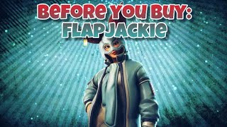 Flap Jackie Fortnite Skin Review | Before You Buy showcase | In Game included