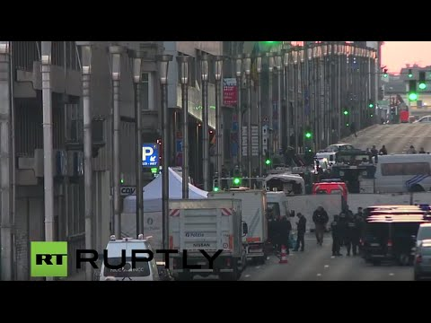 LIVE from Brussels city centre after explosion rocks Maelbeek metro station