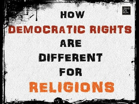 How Democratic Rights Are Different For Minorities/Religion