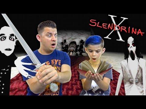 We Found Slendrina's Secret Book, Stole the Vampires Sword And Killed Granny's Spider!! SLENDRINA X