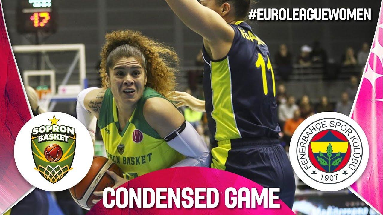 Sopron Basket v Fenerbahce - Condensed Game