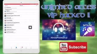 How to hack smule sing on ipad/ipod/iphone!!!