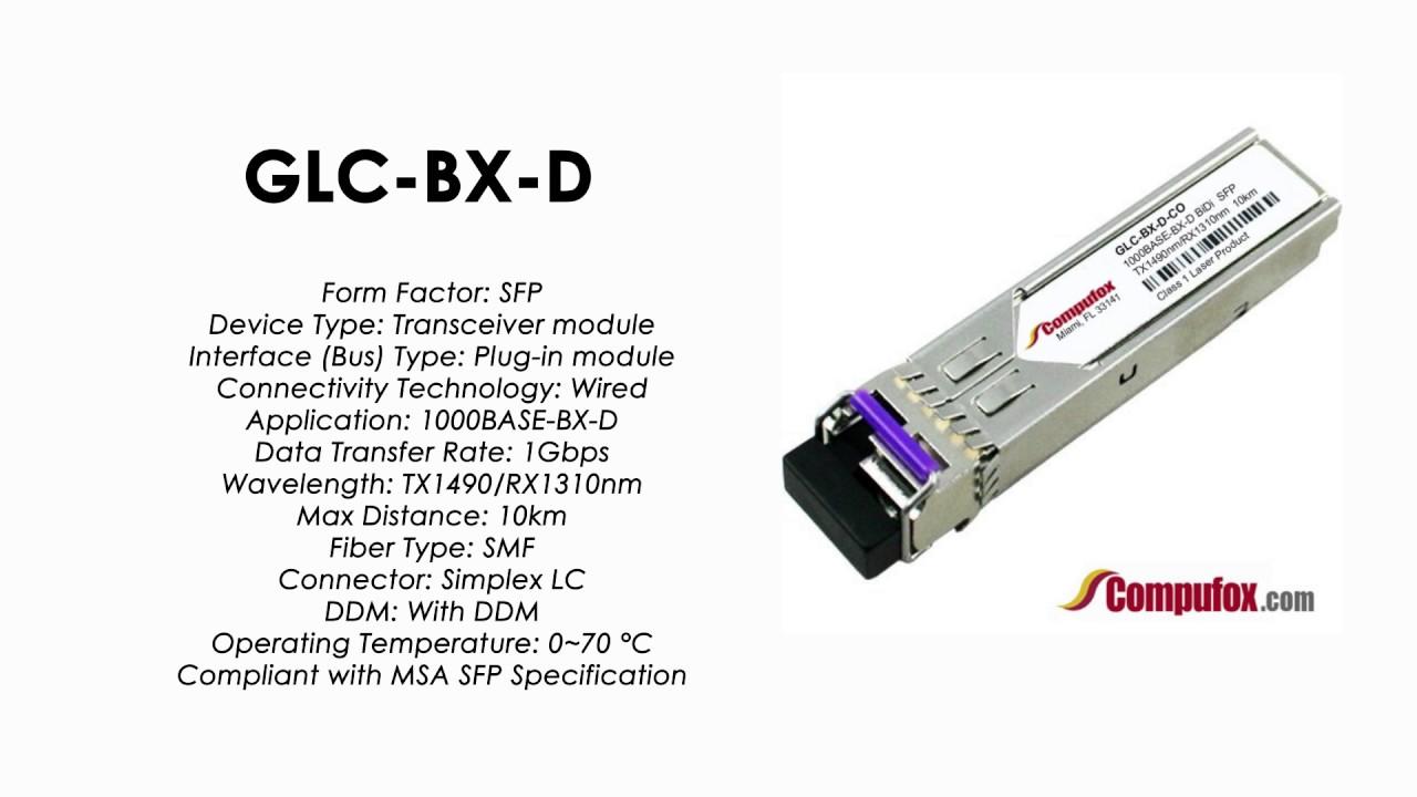 GLC-BX-D - Cisco Compatible