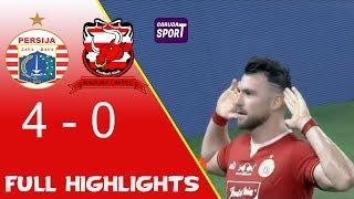 Persija Jakarta Vs Madura United 4-0 Full Goals & Highlights Liga 1 2019