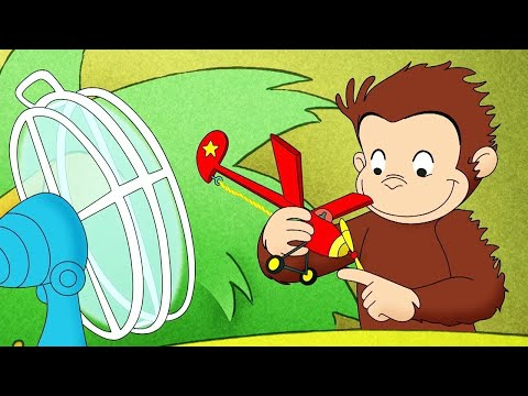 Curious George 🐵Curious George And The Balloon Hound   Cartoons For Kids   WildBrain Cartoons