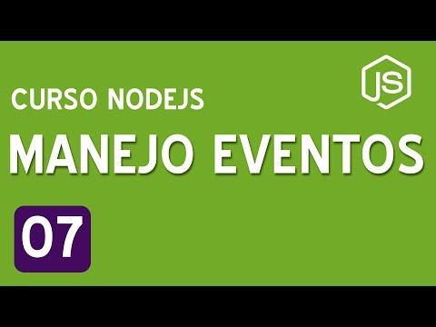 07. Manejo de eventos   Curso de NodeJS para principiantes thumbnail