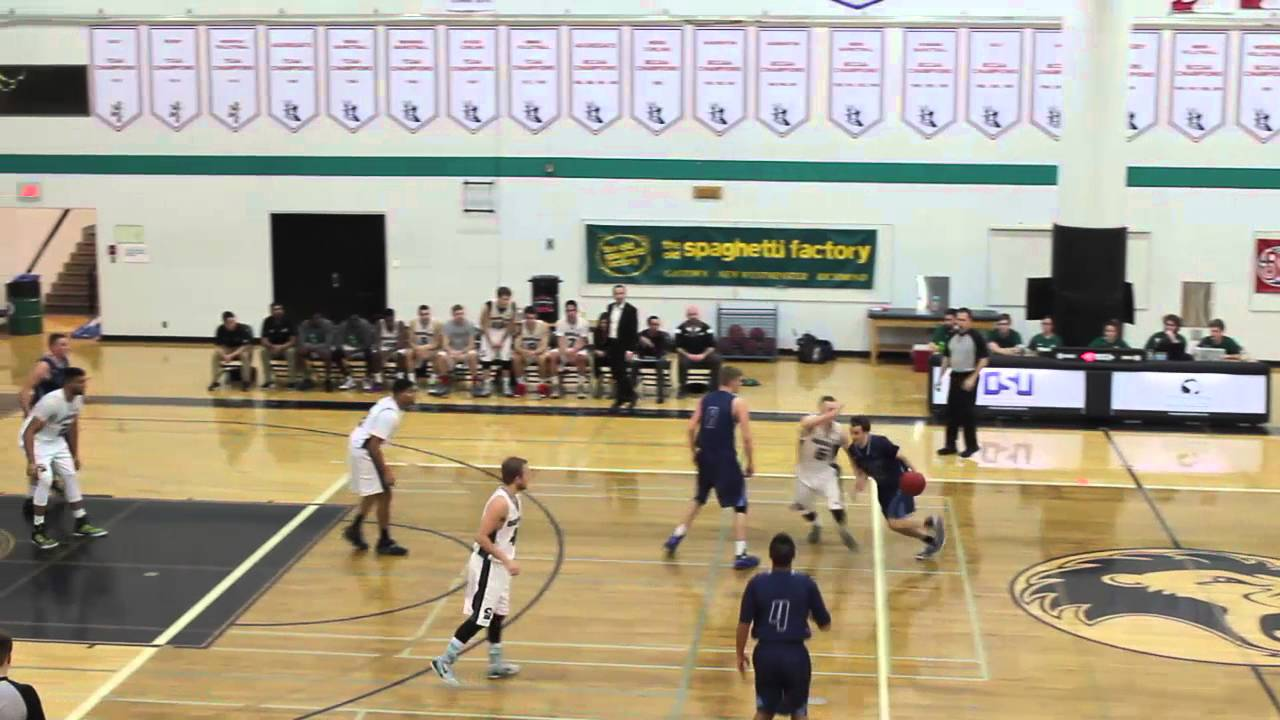 01 29 2016 PACWEST Men's Basketball Douglas vs Capilano ...