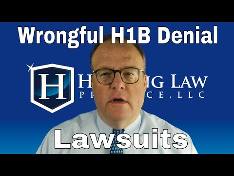 Suing USCIS for Wrongful H1B Denial - YouTube