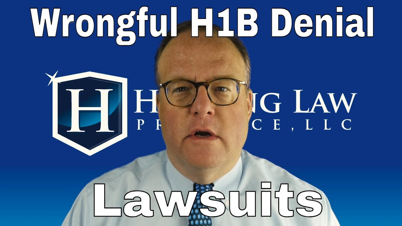 Suing USCIS for Wrongful H1B Denial