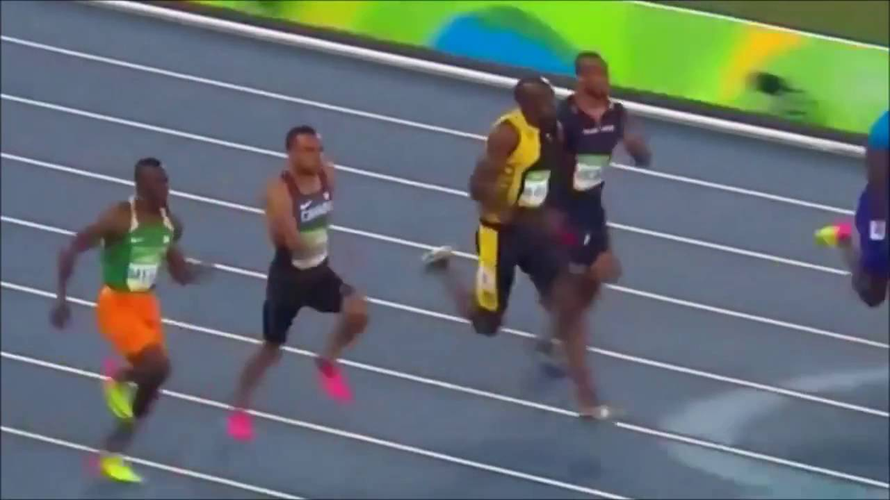 Usain Bolt Wins 100m final in Rio Olympics 2016 - YouTube