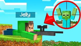 Playing MINECRAFT With GUNS! (Insane)