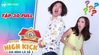 Gia đình là số 1 sitcom | tập 30 full: Tiến Luật lén Thu Trang đi xem phim với gái lạ