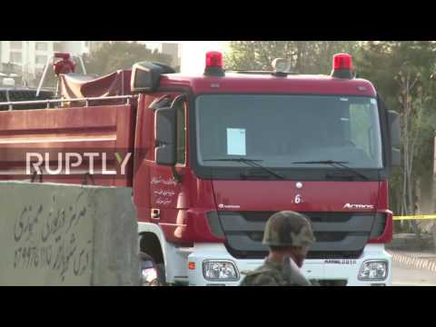 Afghanistan: At least 5 dead as IS claim suicide bombing near presidential palace