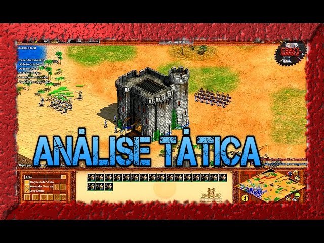 Age of Empires 2 HD 1x1 Arabia Celts War AoE2HD PT BR T�tica do Inimigo 01