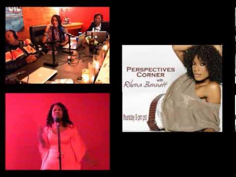 Perspectives Corner w' Rhona Bennett Up next at 9 PM PST