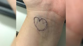Here's What It Means If A Child Has A Tiny Heart Drawn On Their Wrist