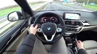 BMW X3 2018 POV Test Drive - Alaatin61