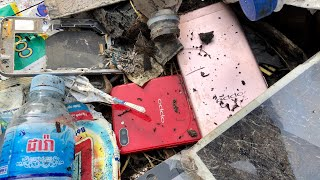 Restoring \ oppo abandoned destroyed phone | Found a lot of broken phones in the rubbish